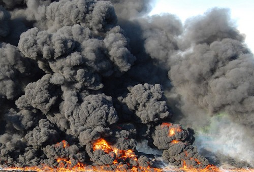 Explosion at ammunition store, no casualties