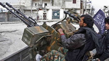 US Congress delays aid to Syrian rebels