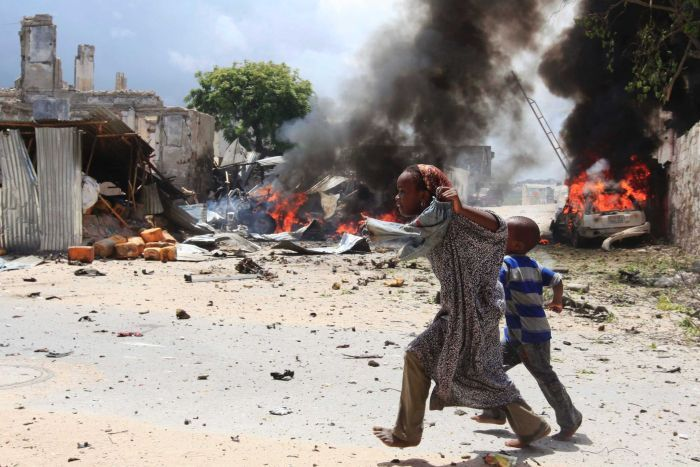 Somali president wants aid airlift for towns retaken from rebels