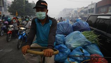 Air pollution damages China's tourism