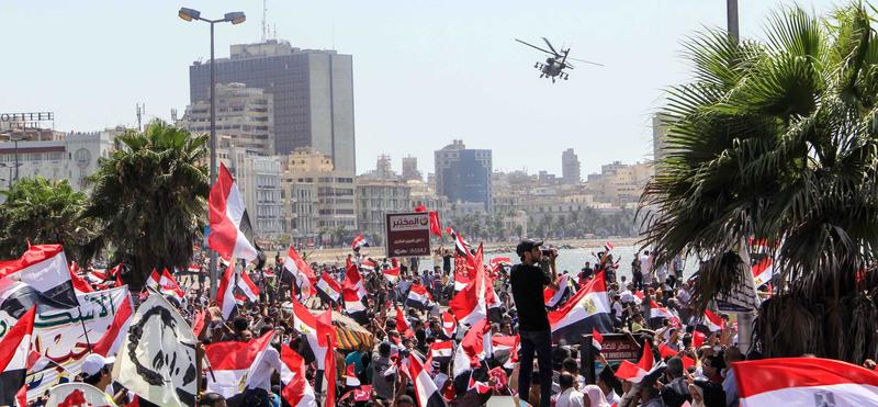 Ex-CIA officer writes coup in Egypt before 4 months