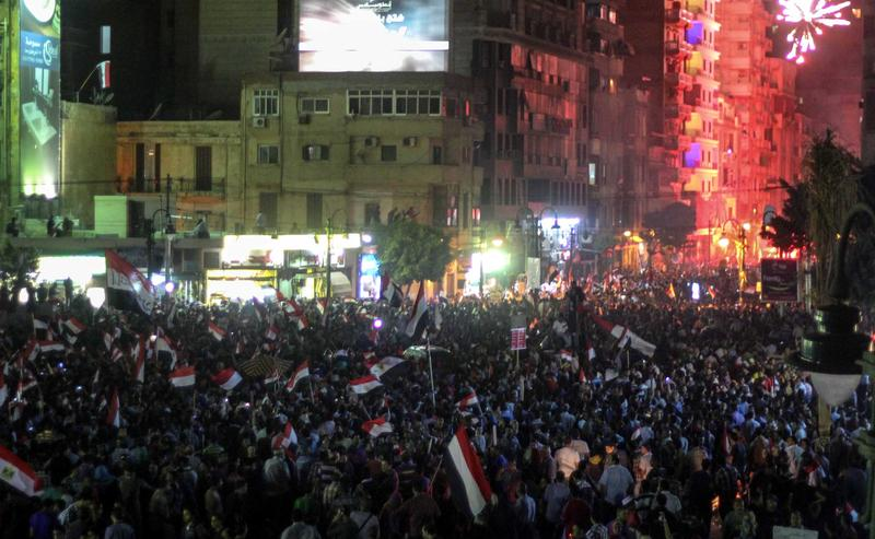 12 killed in Egypt protests