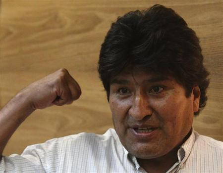 Bolivia angered by search of president's plane