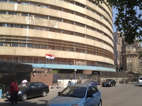 Egypt army takes over state TV studios