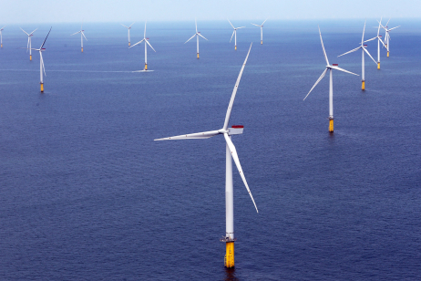 The world's largest offshore wind farm opened