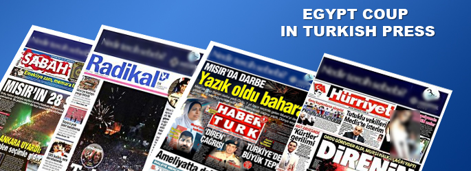 Egypt coup in Turkish Press