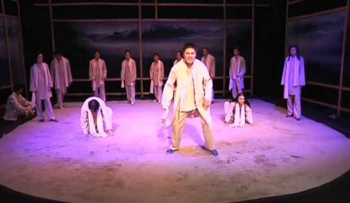 'The Female Wolf' performed on stage-VIDEO