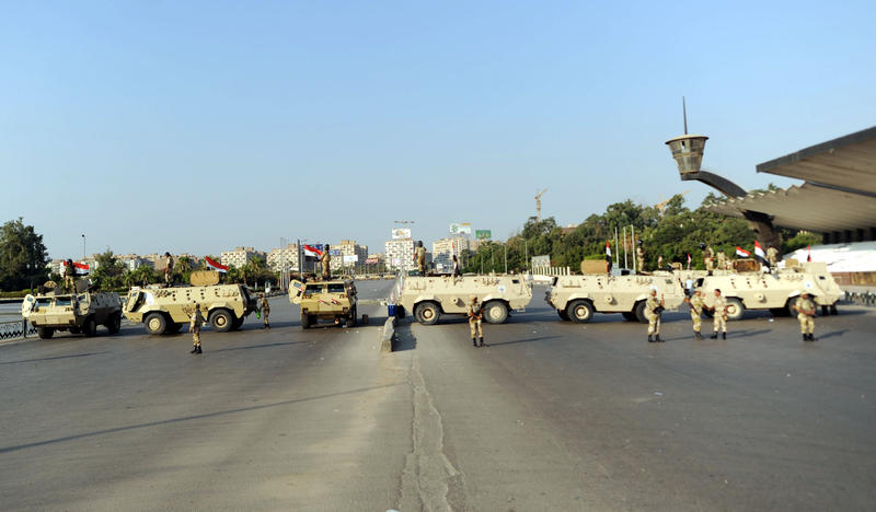New Egypt begins with interim president, security crackdown