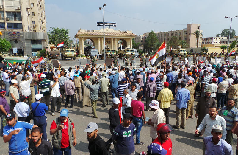Freedom, Justice Party says no information on Morsi's hunger strike