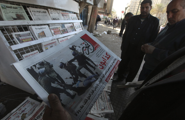 Egyptian army blocks press members to leave their hotel