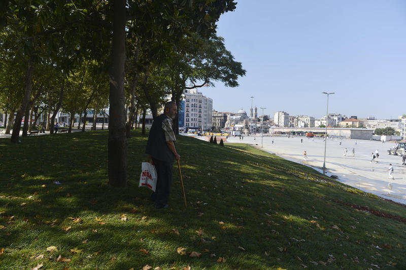 Controversial Gezi Park reopened