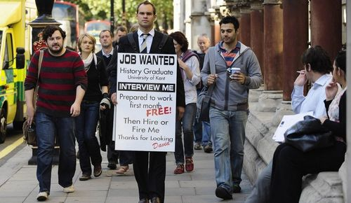 EU tries to cope with the 'high unemployment rate'