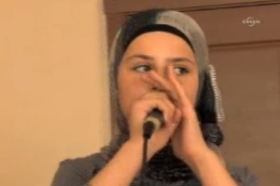 Kids in Syrian refugee camps rapping