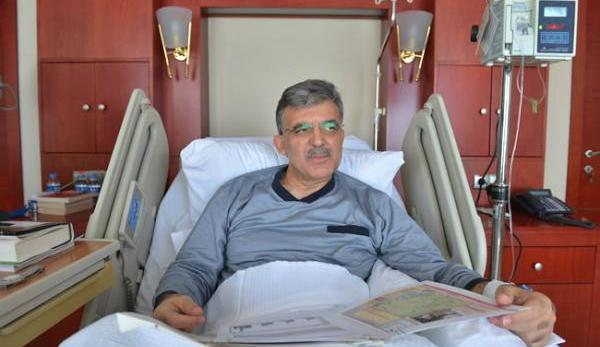 Turkish president well after ear operation