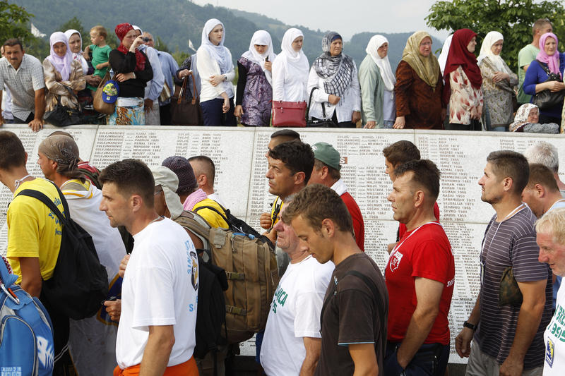 Death march in Bosnia completed