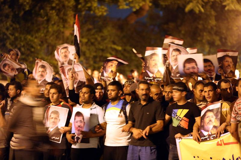 Support for Morsi grows each day