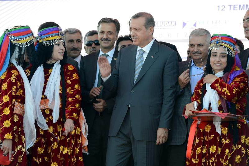 Bingol Airport officially opened by Turkish PM