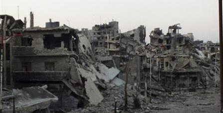 Red Cross calls for 'humanitarian pause' in Homs