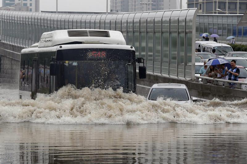 58 dead, 175 missing in China flood