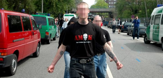 Raids in three countries on neo-Nazi suspects