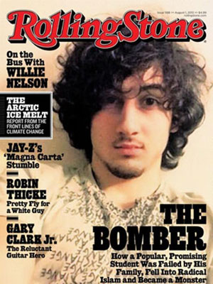 Rolling Stone releases statement on Tsarnaev cover