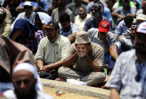 Morsi supporters rally in Cairo