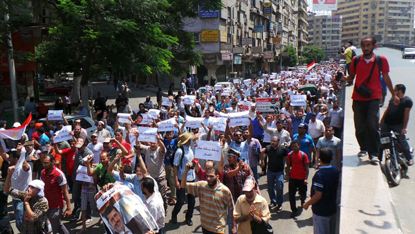 Mohamed Morsi supporters to march on US embassy