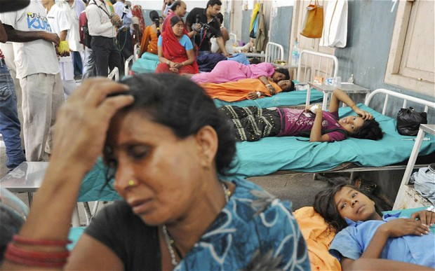 India ignored warnings in free meal programme