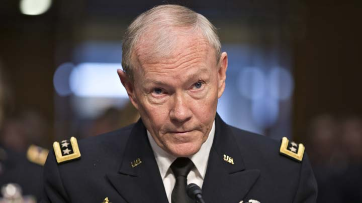 Dempsey outlines US military options in Syria