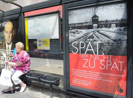 Poster campaign to find Nazi war criminals launched