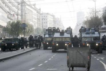 Police clash with anti-gay protesters in Montenegro
