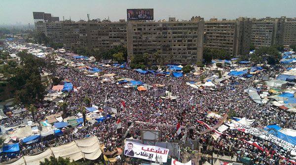 Morsi supporters march for ousted president