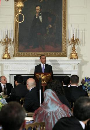 Obama hosts iftar dinner at the White House