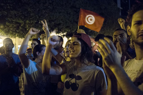 Tunisia erupts in renewed protests