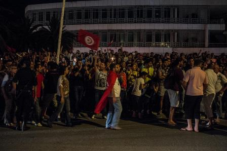 Tunisian labour leader rejects parallels with Egypt