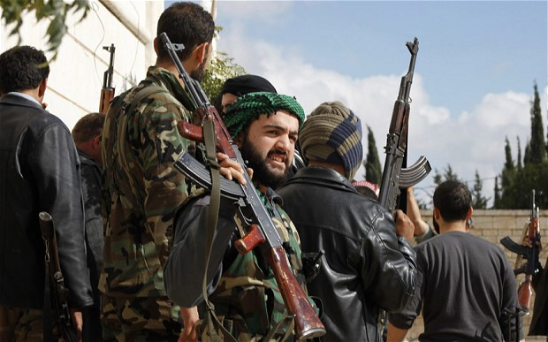 US to begin training Syrian rebels in March