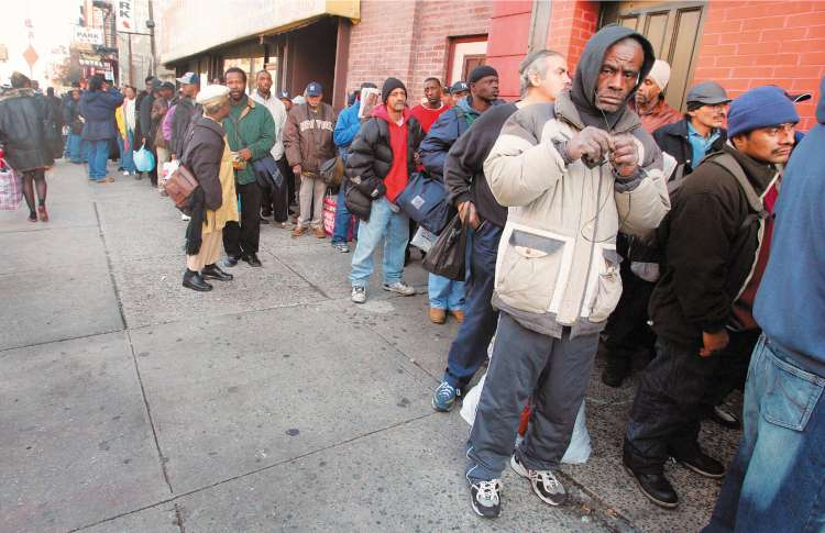Up to a third of Americans experience economic hardship