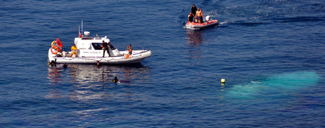 30 migrants rescued overnight from boat in Aegean