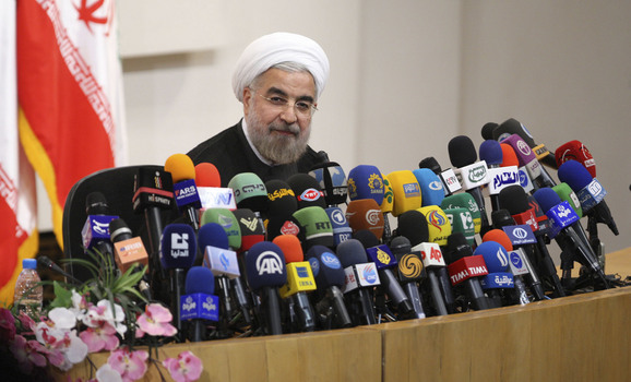 Rouhani says in negotiations with US, Europe relations to normalise