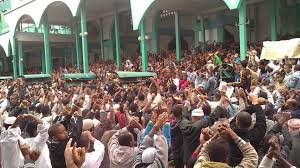 Arrests as Ethiopian Muslims stage eid protests