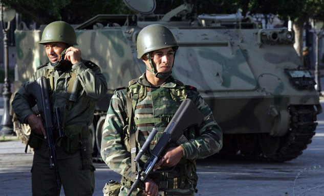 Germany: arms training for rebels a worry