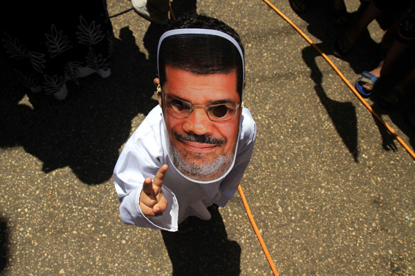 Pro-Morsi petition signed by thousands