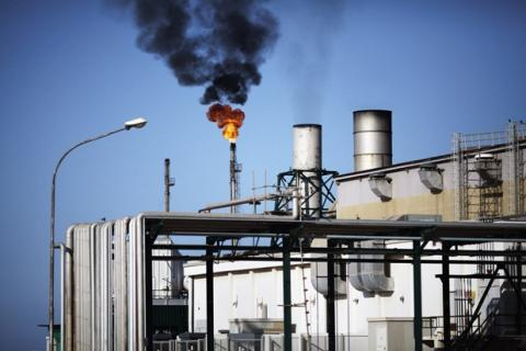 Libya's daily oil output halved since terminal closures