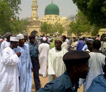 Nigerian Muslims gather for 'prayer for nation'