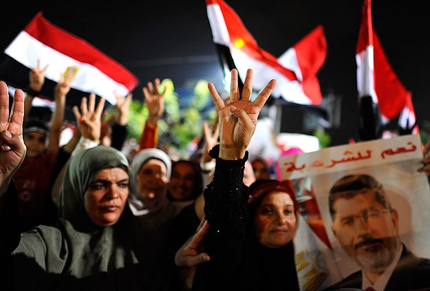 Two anti-coup protesters killed in Egypt's Fayoum