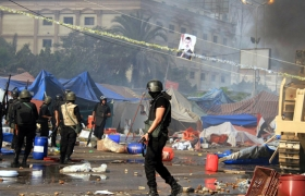 Rights groups in Turkey criticize Gulf over carnage in Egypt