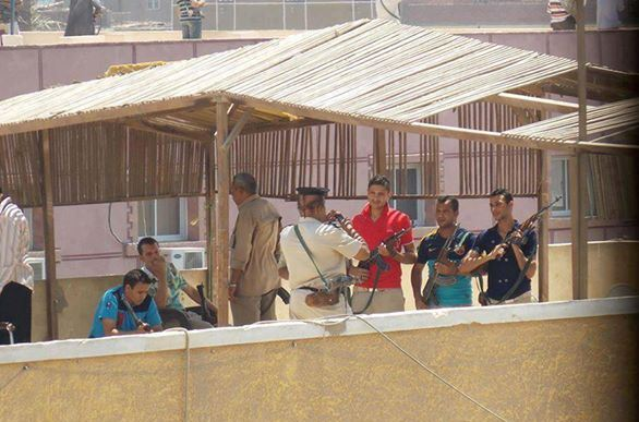 Egyptian generals face legal action