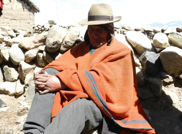 Bolivian Flores says Andean diet has kept him alive for 123 years