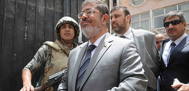 Morsi refused to respond to prosecution's accusation