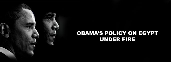 Obama's policy on Egypt under fire